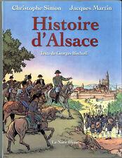 Histoire d'Alsace Jacques Martin Alix  Nuée bleue Elsas Bischoff Nuée bleue 2001