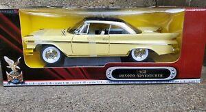 Road Signature 1961 Desoto Adventurer 1:18 Scale Diecast Model Car Yellow