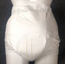 Vintage 8 Diaper Sample First Quality Plastic Backed Adult Pampers Brief Medium