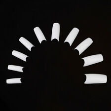 White French False Nail Tips Art-Uv Gel Acrylic DIY Pack of 500
