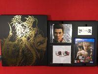 USED Ryu Ga Gotoku Yakuza Kiwami 2 Limited Set Cd Name Card Sega PlayStation 4