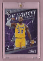 2019/20 Donruss Optic LEBRON JAMES My House Insert Mint LA Lakers Invest!
