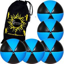 Jeux et activités de plein air jonglages bleus balles