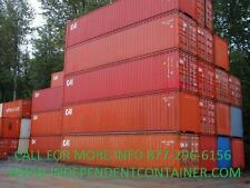 40' High Cube Cargo Container / Shipping Container / Storage Unit  Chigago, IL