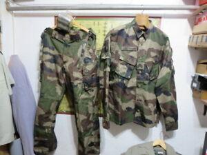 Légion étrangère-3º REI-ensemble tenue foret equatoriale/ taille XL-XXL/gamelle