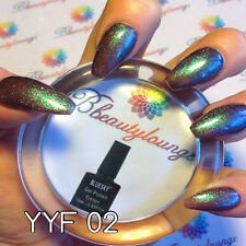 Bluesky Glitter YYF 02 UV/LED Soak Off Gel Nail Polish 10ml Free Postage
