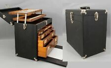 Antique Dental Dentist Tool Chest, Collection Oak Case Cabinet Drawers, NR