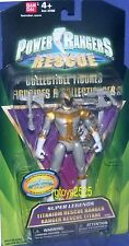 "Power Rangers Super Legends 5"" Lightspeed Rescue Titanium Ranger New 2009"