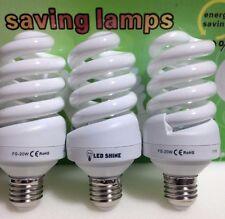 20W=100W FS Day light  6500K CFL Lightbulb, Energy Saving Bulb E27,THREE LAMPS