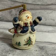 Candle Snuffer Extinguisher Christmas Snowman Vintage Handle