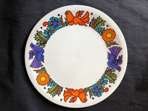 Beautiful Vintage 1970's Villeroy Boch Acapulco Small Bread /Side Plate