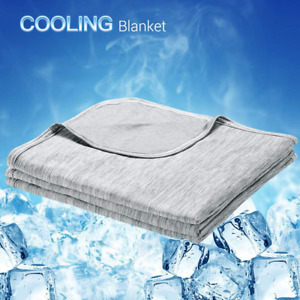 Luxear Cooling Blanket, Revolutionary Cool-To-Touch Technology Q-Max0.4 Summer