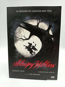 DVD Sleepy Hollow La Legende Du Reiter ohne Kopf - Johnny Depp Frankreich