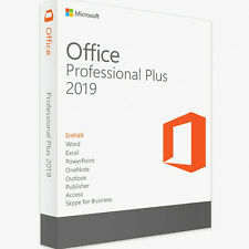 MICROSOFT OFFICE 2019 PROFESSIONAL PLUS 32/64 Bit Download and License Key