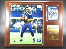 Russell Wilson Seattle Seahawks Wood Wall Picture 15in, Plaque Pic Nfl Football