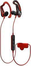 Pioneer E7 Bluetooth Wireless Sports Headphone with 3D Active Fit - Red