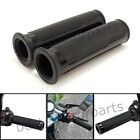 BLACK CNC ALUMINUM MOTORCYCLE RUBBER GEL HAND GRIPS FOR 7/8