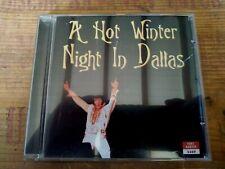 RARE ELVIS PRESLEY CD - A HOT WINTER NIGHT IN DALLAS - FORT BAXTER