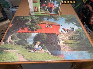 Milton Bradley Vintage Puzzle 1000 Pieces Big Ben Series