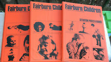 Fairburn Children Set 3 Books 1-3 System of Visual References Lot of 3 Binders