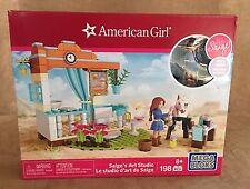 American Girl Doll Mega Bloks Building Set Saige's Art Studio new sealed