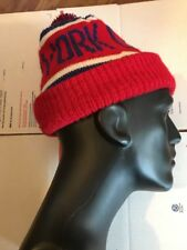 NY Giants Cuffed Beanie Knit Winter Cap Hat NFL Authentic 🏉