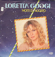 Loretta Goggi – Nächte D'August Wea – T 18231 - Ita 1980