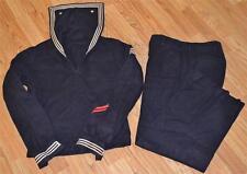 Korean/Vietnam US Navy Sailor Seaman Blue Wool Jumper Uniform Id'd Wendell Noe