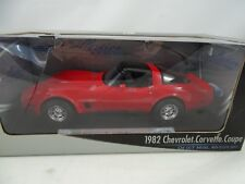 1:18 Welly #12546W-1982 Chevrolet Coupé Red - Rareza $