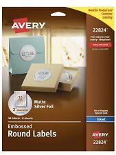 Avery Easy Peel Inkjet Specialty Labels,   22824   8 sheets