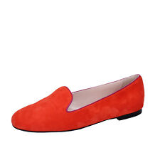 62e2658f9c womens shoes BALLY 2 (EU 35) moccasins flats orange purple suede BY06-C