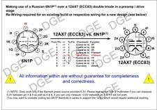 2x 6N1P Juni 1989 NF audio tube factory bulk pack NOS alternative f. 12AX7 ECC83