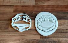 Teenage Mutant Ninja Turtle Cookie Cutter Tmnt - 100 mm (puede cambiar el tamaño)