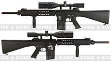 NEW - A&K FSR-25 Airsoft FULL METAL Rifle FULL STOCK Zombie Killer GRIP/RAIL CVR