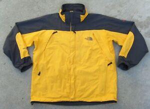 The North Face Summit Series Gore-Tex XCR Snow Rain Jacket Men's XL yellow