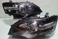 BLACK JDM 03-05 Subaru LEGACY LIBERTY BPE BP5 BL5 STI HID Head Light Headlights