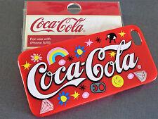 NEU Coca Cola  HANDY HÜLLE Coke SCHUTZHÜLLE IPhone 5 5S SE HARDCASE COVER Rot