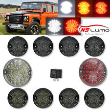 For Land Rover Defender LED Driving Turn Signal Reverse Fog Tail Light Kit 10pcs