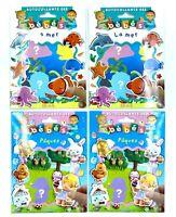 Lot de 4 sets d'autocollants repositionnables Fleurus - Eveil bébés / enfants
