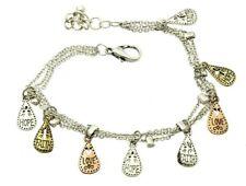 Faith Joy Love Bracelet Charm Silver Gold Copper Chain Inspirational