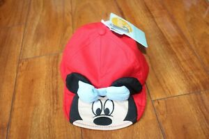 NWT GIRLS DISNEY STORE SZ 12-18 MONTHS HAT MINNIE MOUSE
