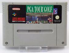 Super Nintendo SNES Spiel - PGA Tour Golf + Super Tennis