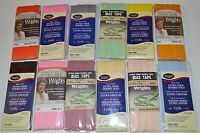 """Wrights Bias Tape Double Fold -1/2"""" w x 3yd- 27 Colors - Your Choice of One"""