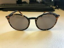 Persol Men's 3214-S 1081/R5 Tortoise Fashion Round Sunglasses