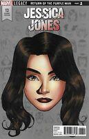 Jessica Jones Comic 13 Cover D Headshot Legacy Variant Mike McKone First Print