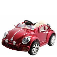 Auto elettrica 12V maggiolino cabrio per bambini con radiocomando maggiolone