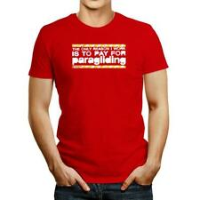 New listing The only reason I work is to pay for Paragliding T-shirt