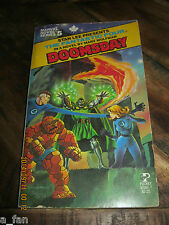 Stan Lee presents Marvel Novel Series #  4 The Fantastic Four in Doomsday Digest