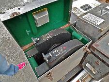 Pair of Left/Right 35mm Mitchell VistaVision Camera Magazines Black Used MIA