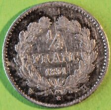 FRANCE 1/4 DE FRANC LOUIS PHILIPPE 1831 H